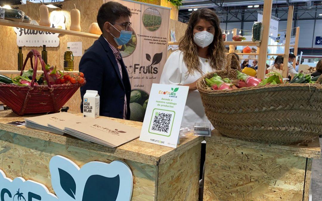 Marcas y empresas productoras en Fruit Attraction confían a Naturcode su catálogo digital y el etiquetado inteligente de sus productos alimenticios